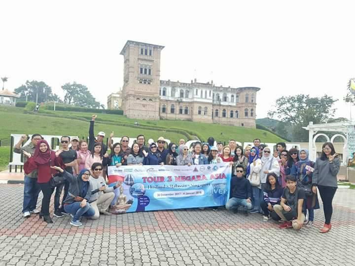 TOUR 3 NEGARA 7D6N Malaysia Singapore Thailand